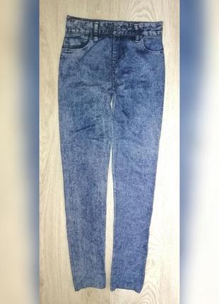 Лосины принт джинс