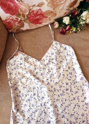 Красивая атласная ночнушка, ночная сорочка!
