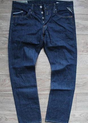 Оригинальные качественные джинсы replay  jeans размер w34/l32