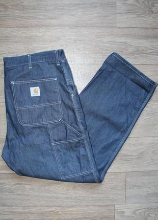 Крутые оригинальные джинсы carhartt single knee pant размер w38/l34