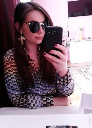 Солнцезащитные очки с цельной линзой