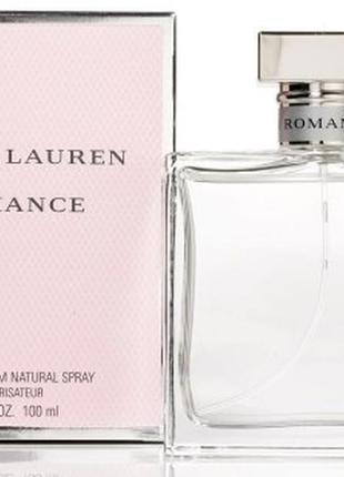 Парфюмированная вода ralph lauren romance woman фруктовые, цветочные 33 мл 0546c054a3e
