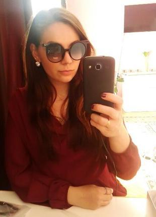 Солнцезащитные очки круглые