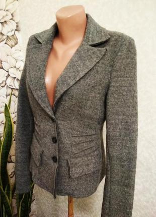 Жакет, пиджак из валяной шерсти. 1+1= 50% скидки на 3ю вещь.
