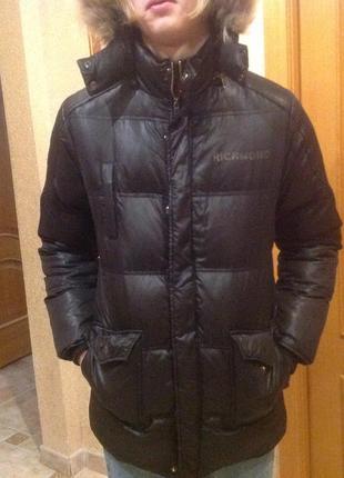 Куртка пуховая richmond для подростка.