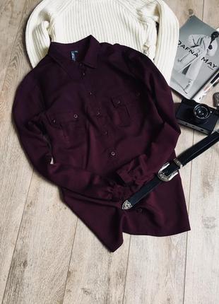 Блуза темно фіолетового кольору♥️♥️♥️