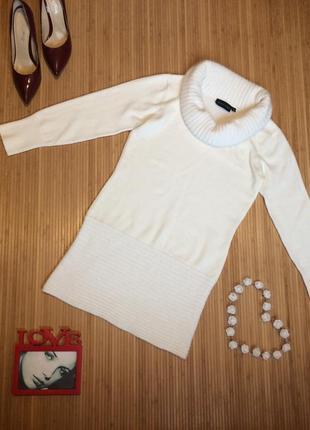 Шикарное платье с хомутом с ангорой,размер l