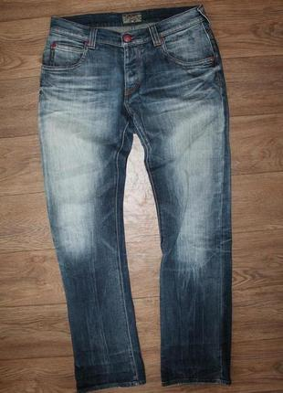 Оригинальные джинсы armani jeans made in italy размер 33