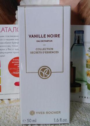 """Парфюмированная вода """"vanille noire"""" ив роше"""