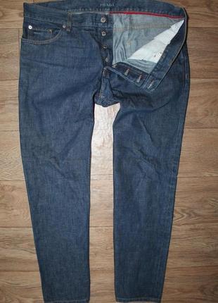 Оригинальные джинсы prada classic fit размер 38 хл