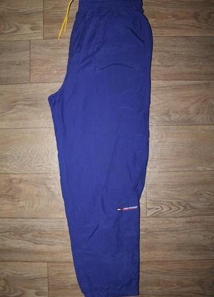 Винтажные спортивные штаны tommy hilfiger athletics vintage л размер