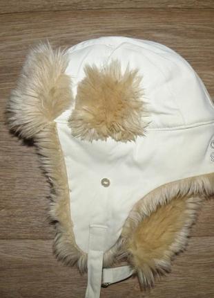 Шикарная шапка ушанка adidas с линейки respekt me m размер