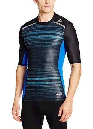 Компресионная футболка adidas ® techfit chill  размер : l-xl (по бирке: xl)