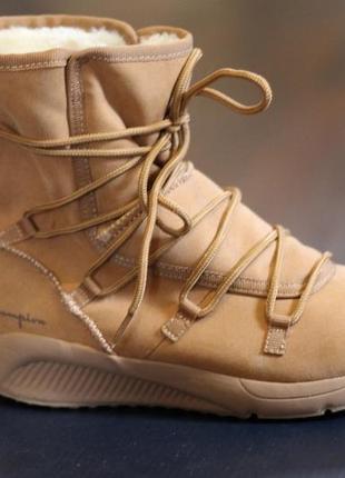Спортивные ботинки женские высокие кроссовки угги хайтопы зимние champion 38, 24 см