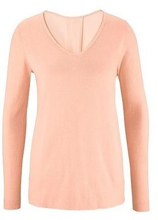 Воздушный пуловер блуза tcm tchibo(германия), размер 44 евро=50-52