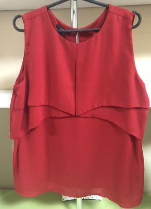 Блуза с отложной спинкой