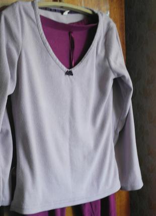 Реглан, кофта, футболка с длинным рукавом, пижама, для дома