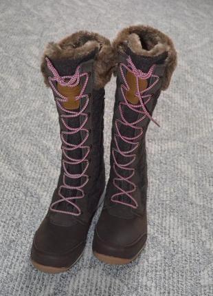 Водовідщтовхоючі чоботи salomon women's hime high snow boot /  ботинки, сапоги