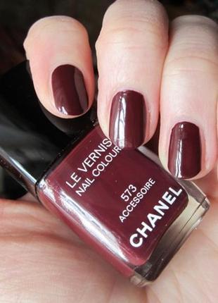 Лак chanel le vernis nail colour тон 573 accessoire