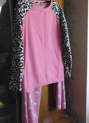 Пижама, домашний костюм, костюм для дома