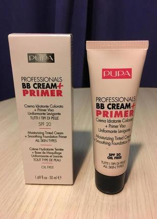 Тональный крем pupa profesional bb cream + primer tone-cream