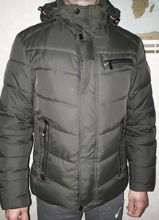 Обалденная зимняя курточка размер 48/50