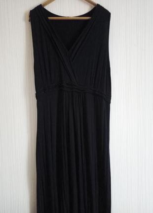 Длинное платье в пол 56 размера