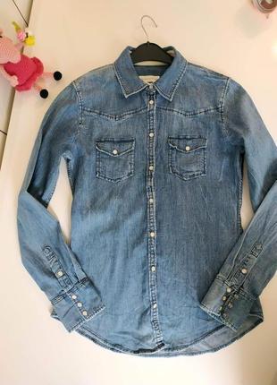Рубашка джинсовая marc o polo