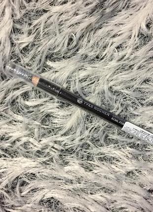 Олівець для очей чорний yves rocher