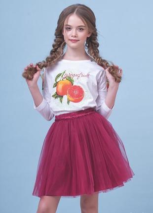 Джемпер для девочки 76-8002-4 zironka рост 134, 140, 146