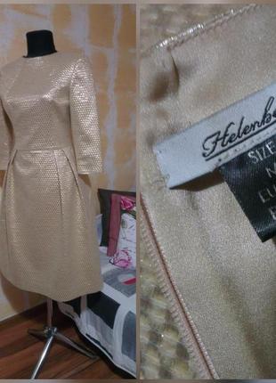 Дизайнерское, стильное, фирменное платье миди, супер качество!!!