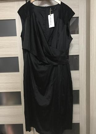 Шикарное платье marina rinaldi, италия, большой размер