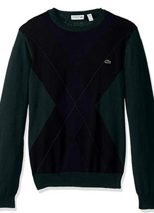 Красивый новый модный свитер lacoste (оригинал) из сша