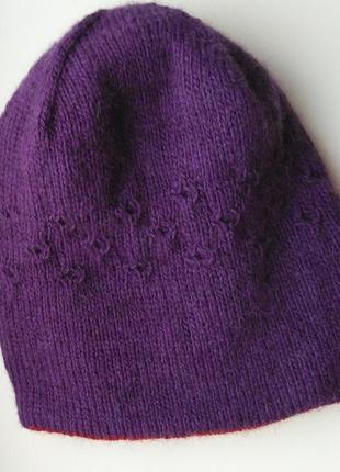 Двусторонняя шапуля на голову 56—58 см