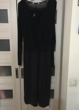 Шикарное платье marina rinaldi, италия