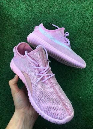 Кроссовки розовые3