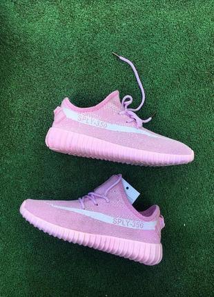 Кроссовки розовые4
