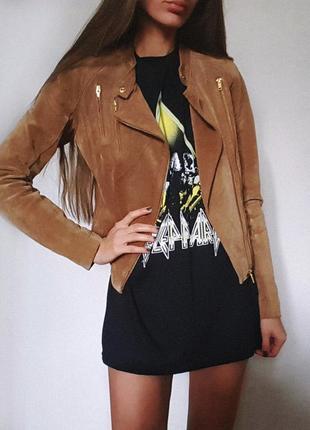 Замшевая косуха / куртка от vero moda