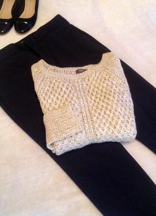Нежный бежевый свитер пуловер  jessica (c&a)