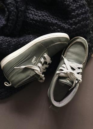 Кожаные ботинки puma