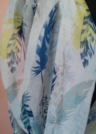 Красивый нежный шарфик2 фото