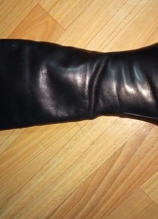 Зимові шкіряні чобітки