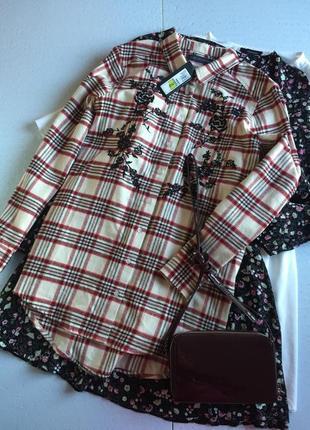 Рубашка із вишивкою 12р