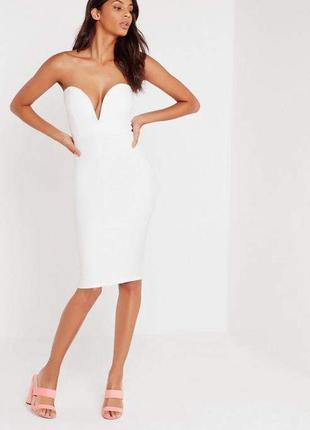 Идеальное миди платье бюстье