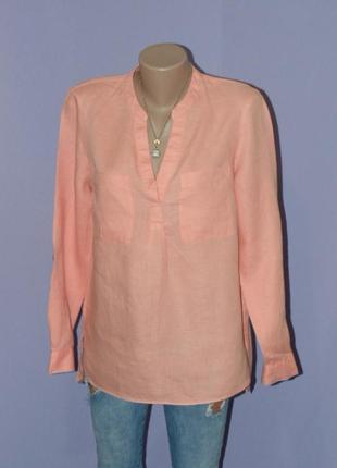Красивая натуральная блузочка/100% лен