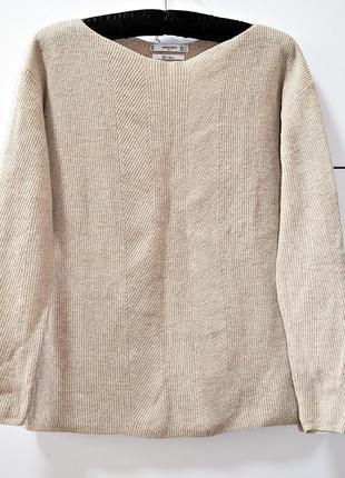 Шикарный брендовый шерстяной джемпер mango suit wool blend