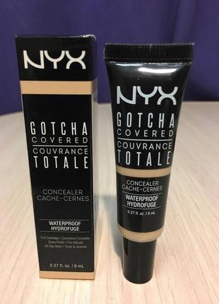 Универсальный консилер nyx professional makeup gotcha covered concealer