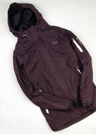 Ветровка helly hansen original с флис подкладом куртка с капюшоном