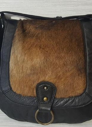 Стильная женская кожаная сумка