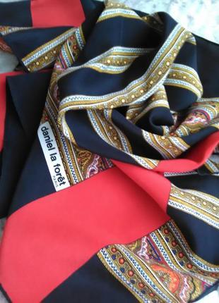 Чудесный шёлковый платок daniel la foret